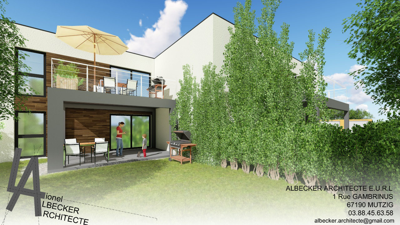 Architecte Bas Rhin logement collectif à dachstein – albecker architecte à
